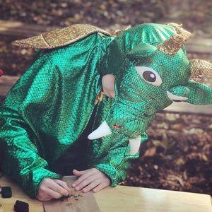 Dream Play Imagine Dragon Cape Costume size 3-6